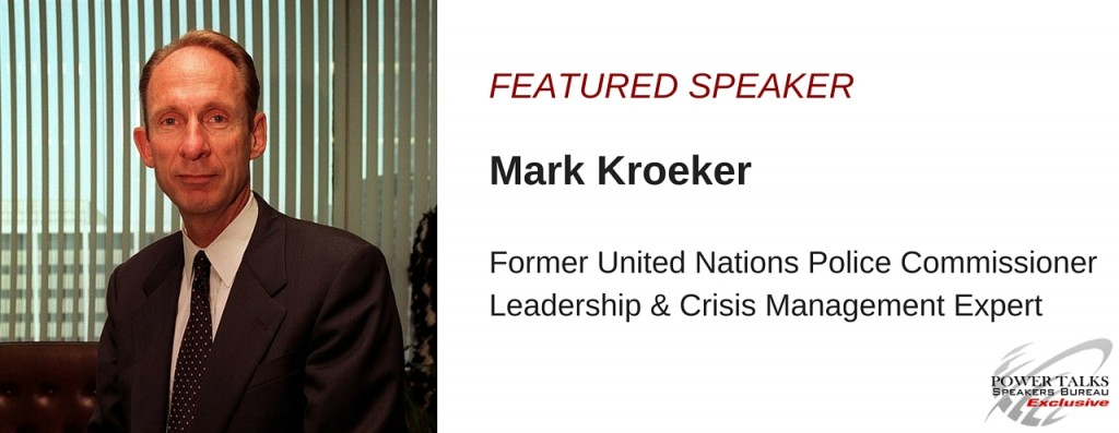 Mark Kroeker, Power Talks Speakers Bureau